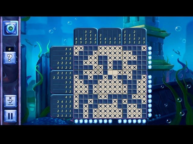 Picross Fairytale: Legend Of The Mermaid Screenshot