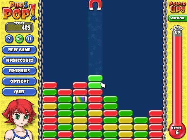 Pile and Pop Screenshot