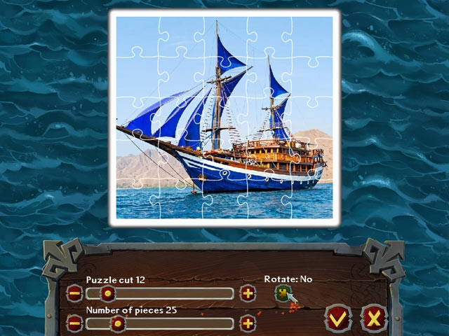 Pirate Jigsaw Screenshot