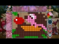 Rainbow Mosaics 10: Christmas Helper, screenshot #3