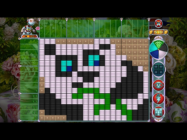 Rainbow Mosaics: Garden Helper Screenshot
