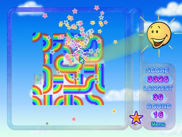 Rainbow Ruffle Screenshot