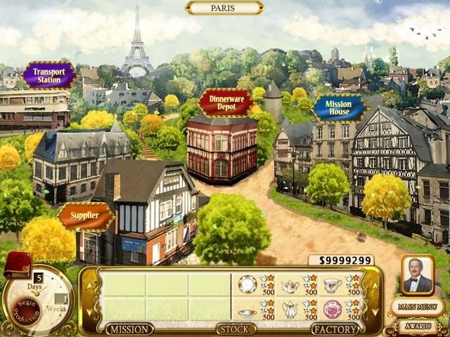 Rare Treasures: Dinnerware Trading Company Screenshot
