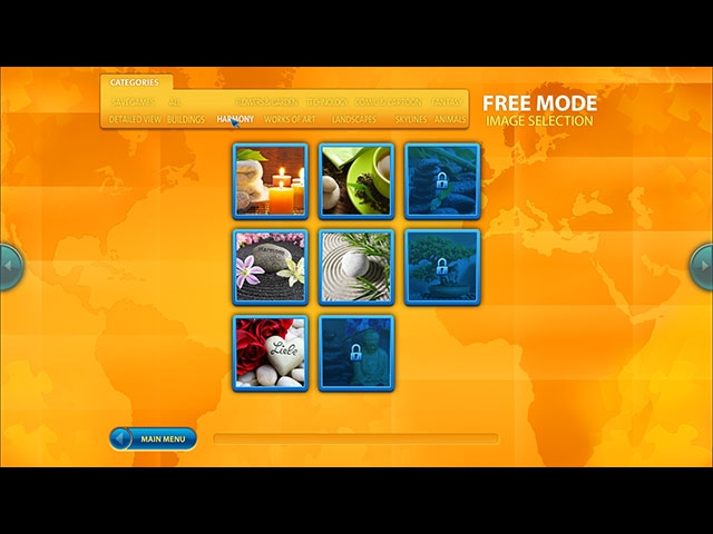 Ravensburger Puzzle II Selection Screenshot