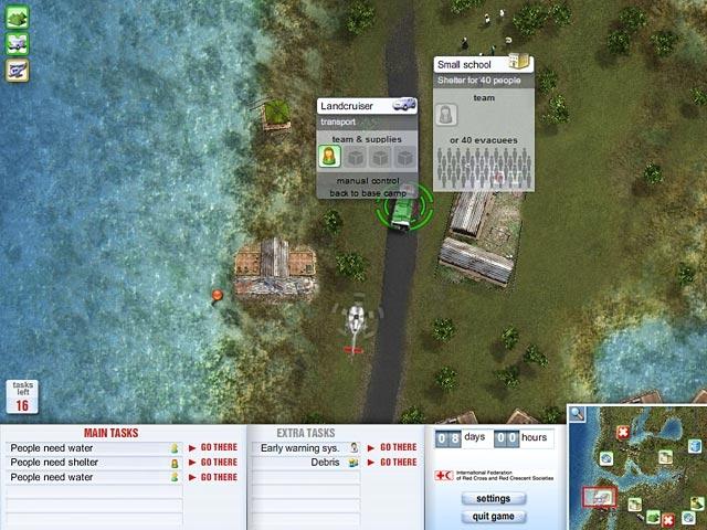 Red Cross - Emergency Response Unit Screenshot