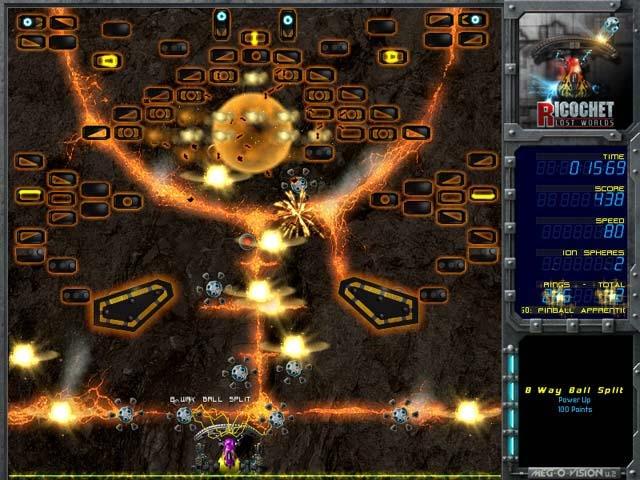Ricochet Lost Worlds Screenshot