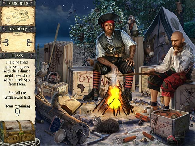 Robinson Crusoe and the Cursed Pirates Screenshot
