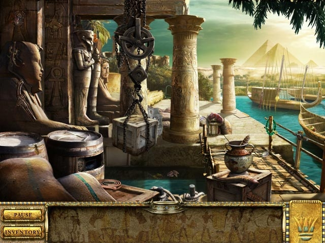 Romancing the Seven Wonders: Great Pyramids Screenshot