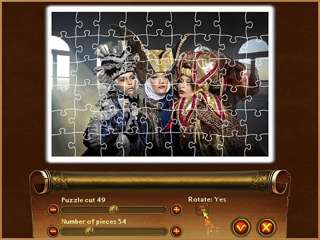 Royal Jigsaw Screenshot