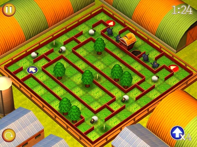 Running Sheep: Tiny Worlds Screenshot