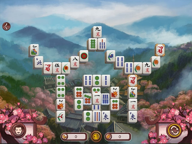 Sakura Day 2 Mahjong Screenshot