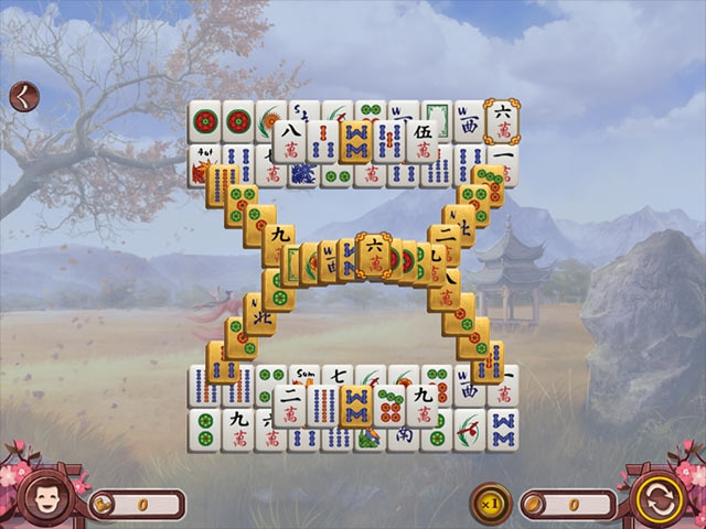 Sakura Day Mahjong Screenshot