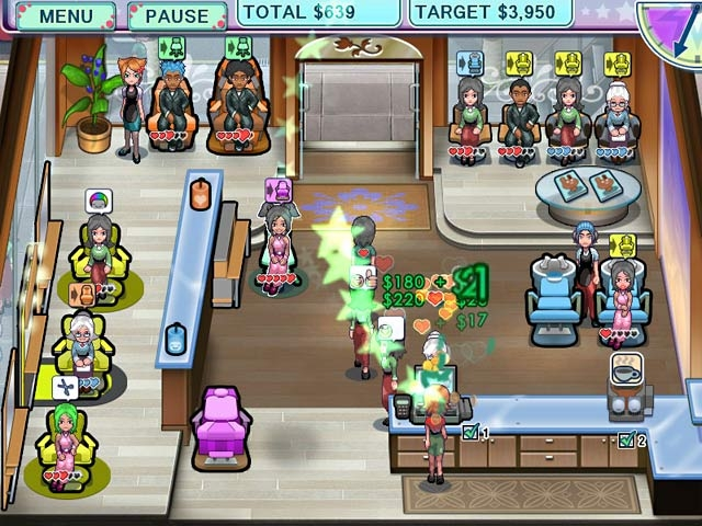 Sally's Salon Screenshot