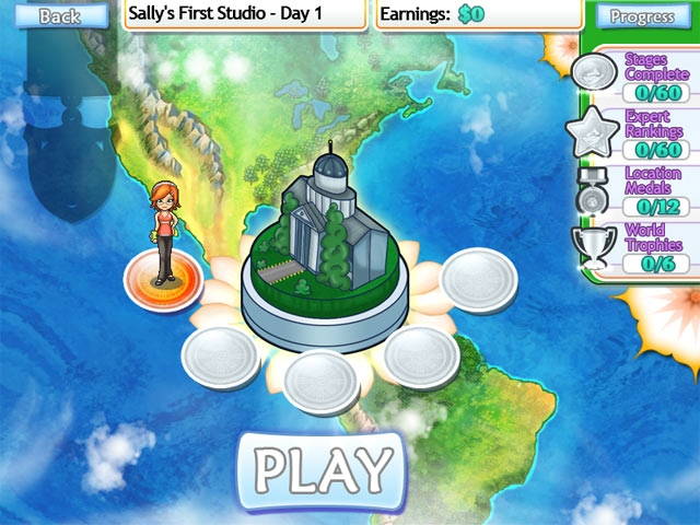 Sally's Studio Screenshot