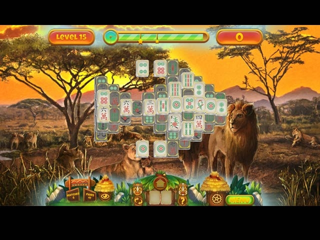 Save the Nature: Mahjong Screenshot