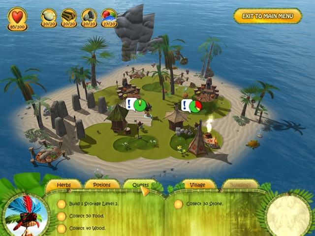 Shaman Odyssey - Tropic Adventure Screenshot
