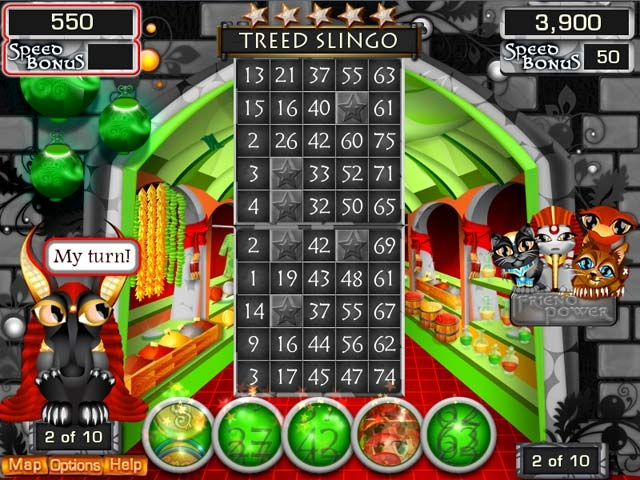 Slingo Quest Egypt Screenshot