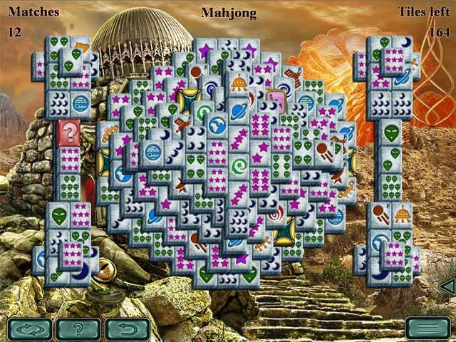 Space Mahjong Screenshot