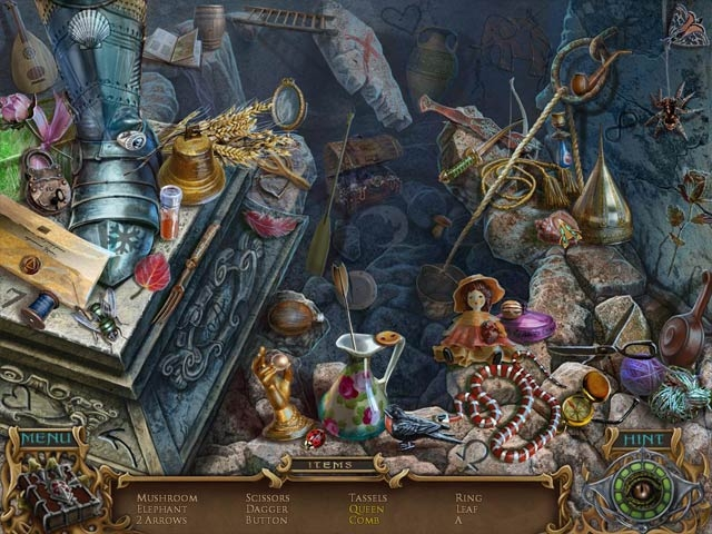 Spirits of Mystery: Amber Maiden Collector's Edition Screenshot