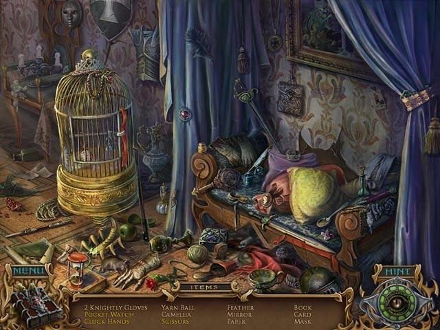 Spirits of Mystery: Amber Maiden Screenshot