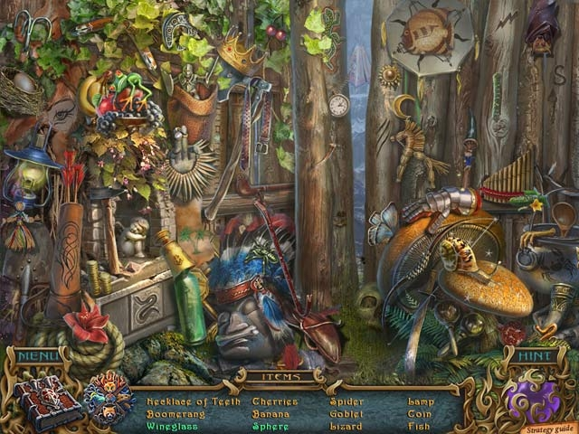 Spirits of Mystery: The Dark Minotaur Collector's Edition Screenshot