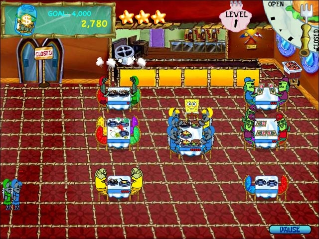 SpongeBob SquarePants Diner Dash Screenshot