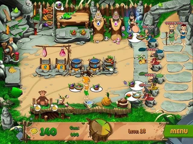 Stone Age Cafe Screenshot