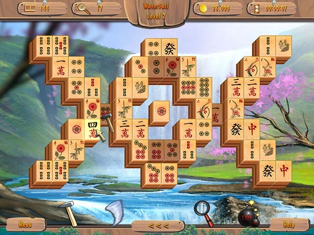 Summer Mahjong Screenshot