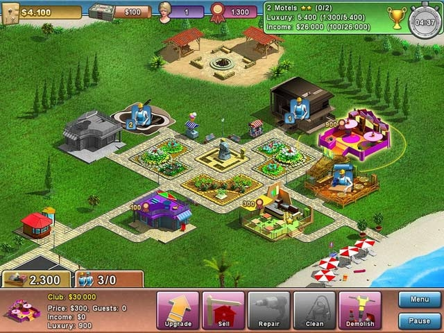 Summer Resort Mogul Screenshot