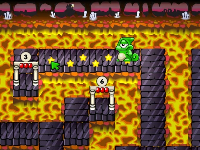 Super Yum Yum Puzzle Adventures Screenshot