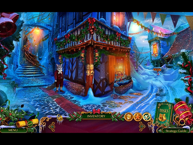 The Christmas Spirit: Mother Goose's Untold Tales Collector's Edition Screenshot