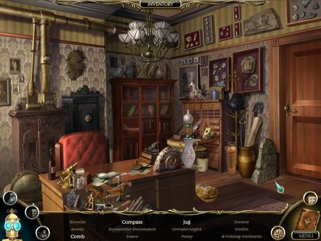 The Clockwork Man: The Hidden World Screenshot