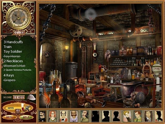 The Lost Cases of Sherlock Holmes Screenshot