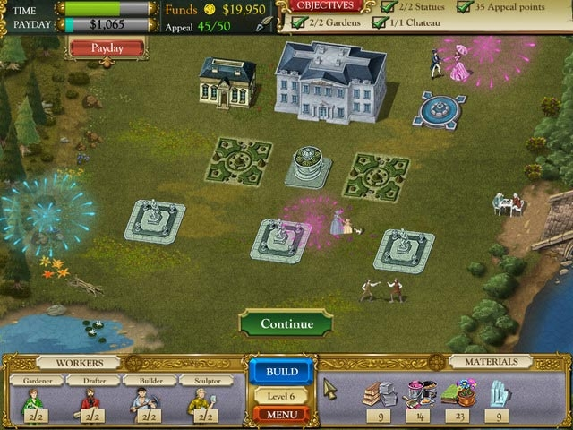 The Palace Builder Screenshot