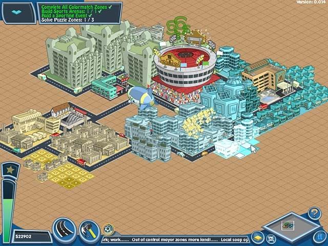 The Sims Carnival SnapCity Screenshot