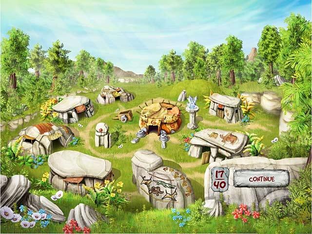 The Timebuilders: Caveman's Prophecy Screenshot