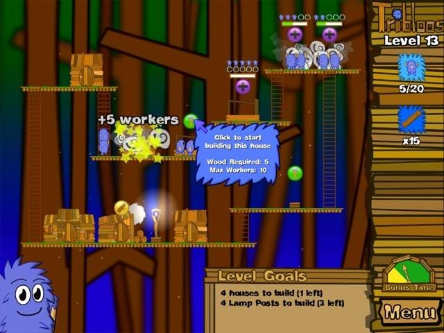 The Tribloos Screenshot