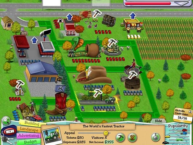 Tourist Trap: Build the Nation's Greatest Vacations Screenshot