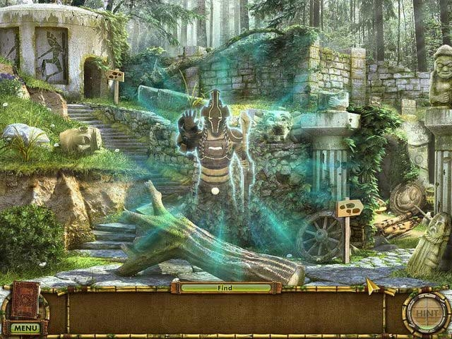 The Treasures of Mystery Island: The Gates of Fate Screenshot
