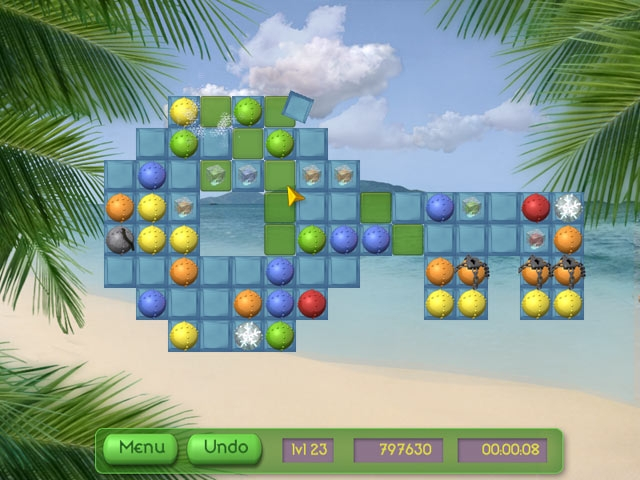 Tropical Puzzle Screenshot