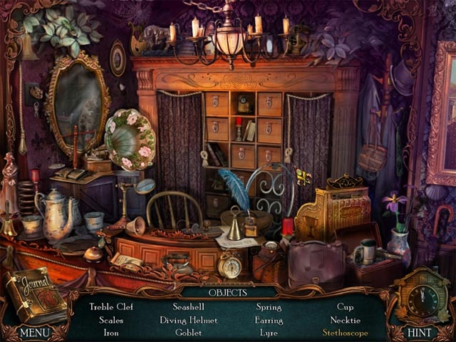 Victorian Mysteries(R): The Yellow Room Screenshot