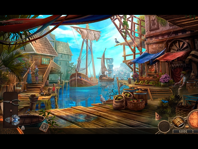 Wanderlust: The City of Mists Collector's Edition Screenshot