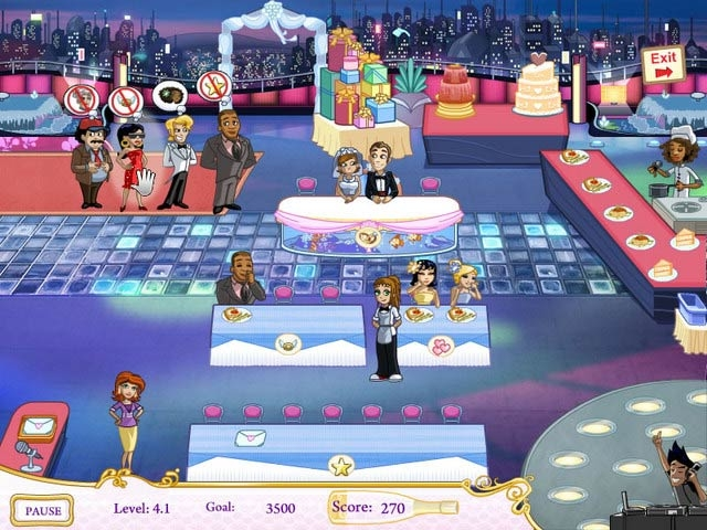Wedding Dash: Ready, Aim, Love Screenshot