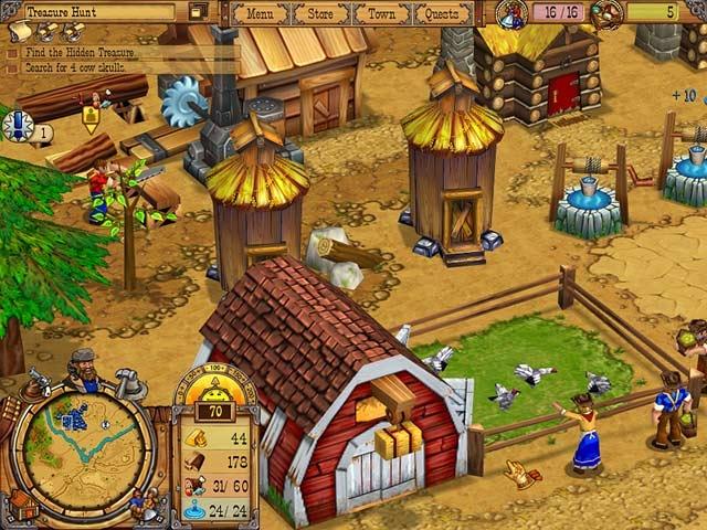 Westward II: Heroes of the Frontier Screenshot