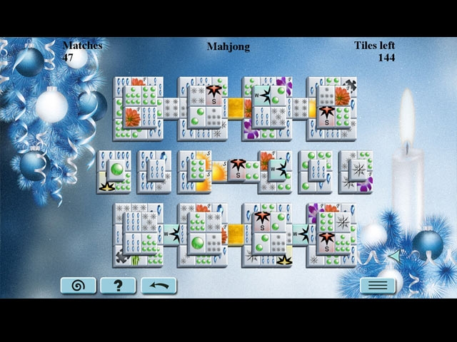Winter Mahjong Screenshot