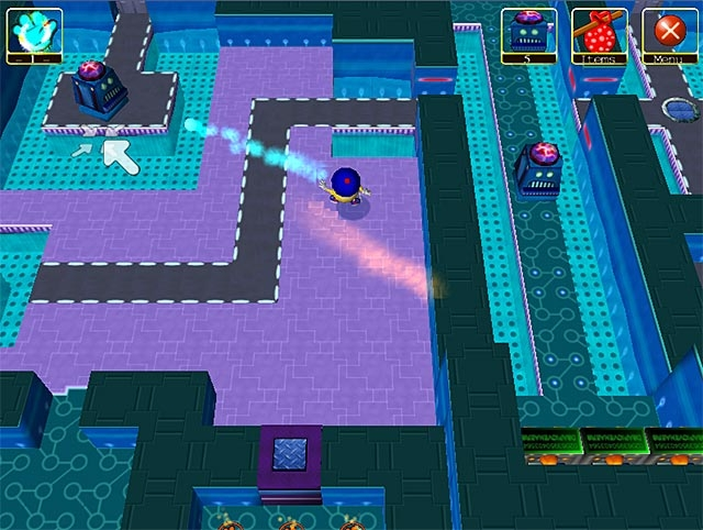 Wonderland Adventures: Planet of the Z-Bots Screenshot