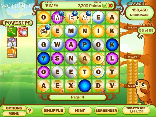 Word Bird Supreme Screenshot