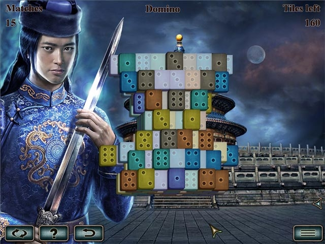 World's Greatest Temples Mahjong Screenshot