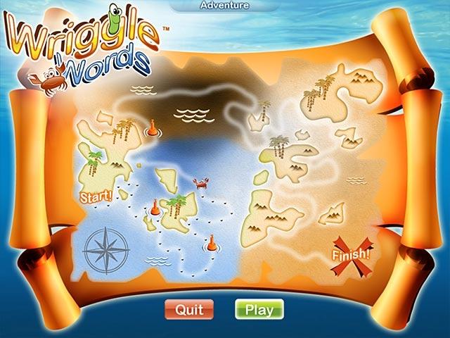 Wriggle Words Screenshot