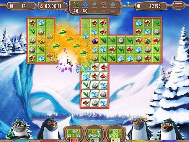 Yeti Quest: Crazy Penguins Screenshot